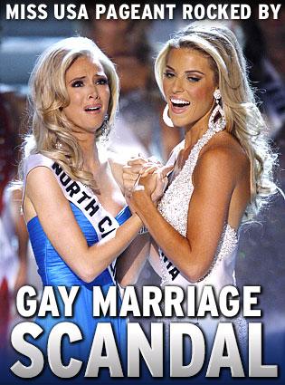 Miss usa gay marraige