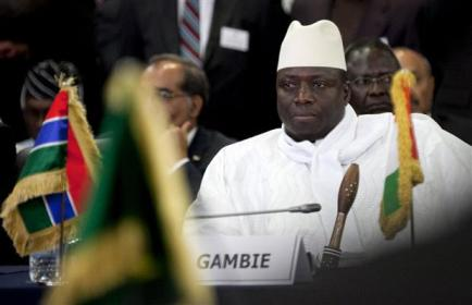 Gambian President Jammeh an avid opponent of gay rights.