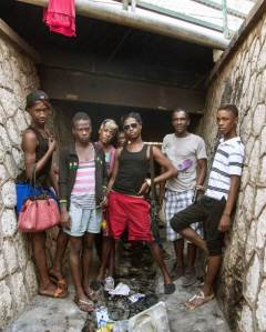 Photo-Jamaican-Gay-men-Living-In-Garbage-and-Sewer